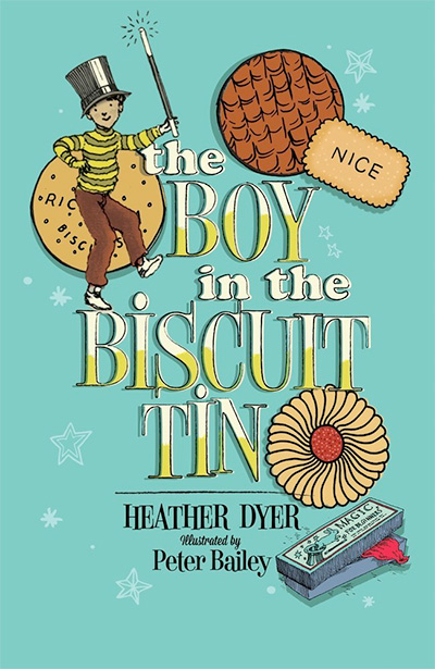 The boy in the biscuit tin – Heather Dyer, TLC Reader