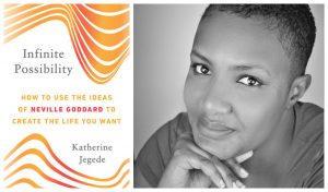 Book cover and author photo for Kate Jegede, founder of the Thinking Woman's Award