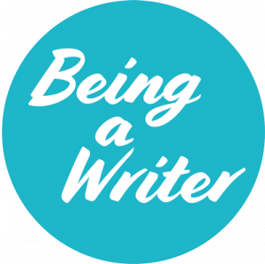 Being a Writer logo