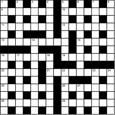 Literary Crossword